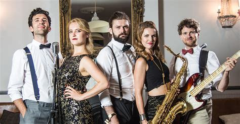 London's best swing pop band, gatsby Band London