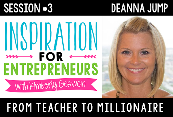 KG 003: Deanna Jump: From Teacher to Millionaire