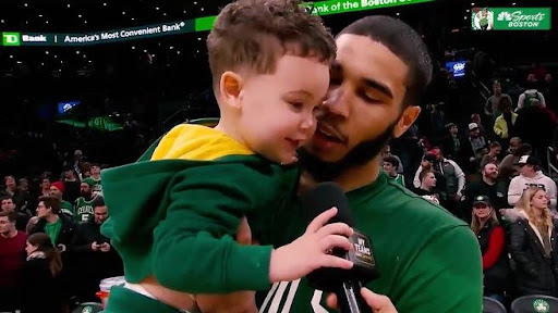 Avatar of Boston Celtics' Jayson Tatum Has a Heartwarming Way to Fulfill His Father Duties From Inside the Orlando Bubble