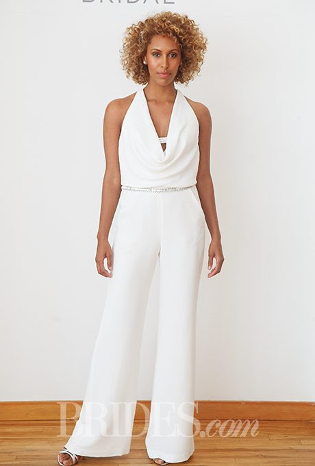 i do take two feminine bridal pant suits for your wedding day