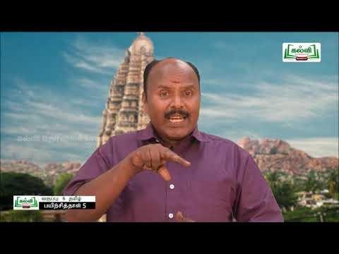 6th Tamil மதிப்பீடு இயல் 1 Kalvi TV