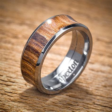 17 Best ideas about Wood Wedding Rings on Pinterest   Wood