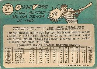 #571 Ossie Virgil (back)