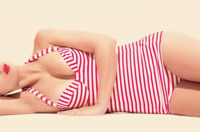 moda 2012, moda costume de baie, costume de baie retro, tendinte moda costume de baie, modele retro, trenduri 2012