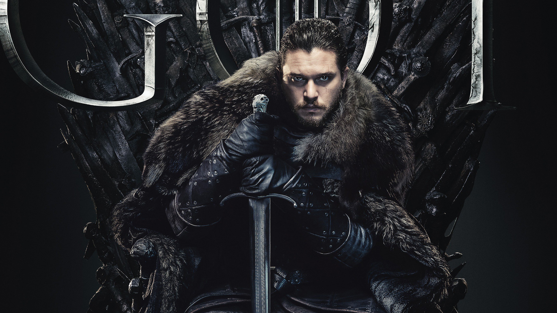 Jon Snow In Game Of Thrones Final Season 8 2019 Wallpapers Hd