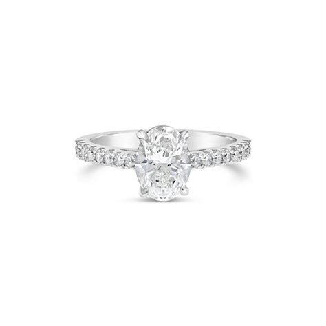 """Everlasting"" Oval Cut Diamond Engagement Ring   Fairfax"