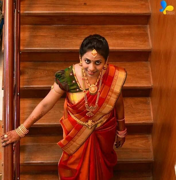 Tamilnadu Hairstyles For Medium Hair: Hairstyle For Traditional Wedding