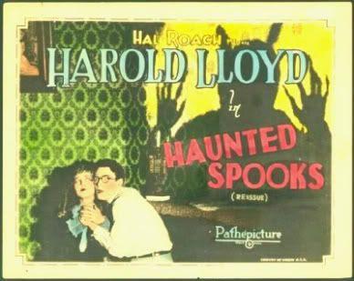 Harold Lloyd Haunted Spooks