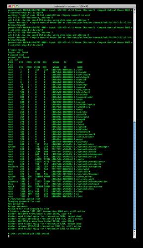 BeagleBoard xM Rev C Serial Console