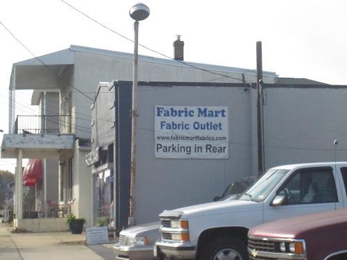 Fabric Mart, Exterior