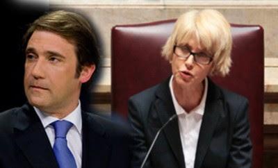 Passos Coelho e Assunção Esteves querem ver alterações às leis do tranalho debatidas na AR antes da discussão pública
