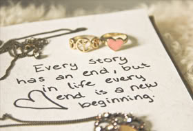 Every Story Has An Endbut In Life Every End Is A New Beginning