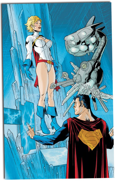 Superman 663 - Solicit art