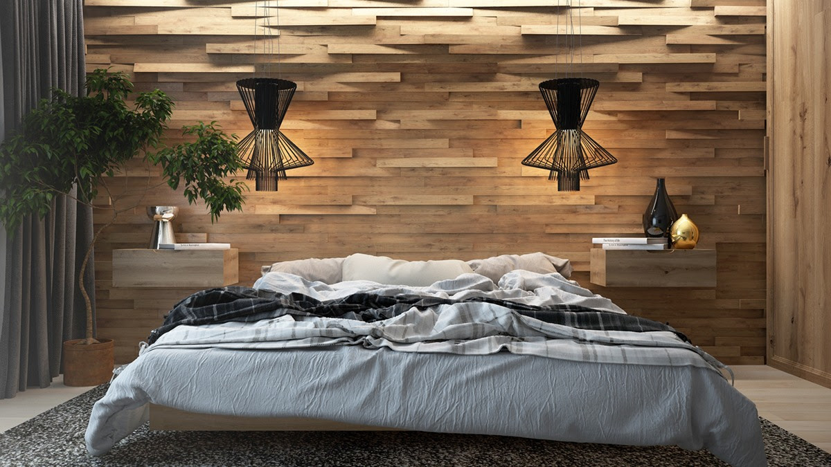 Design Inspiration Wood Walls In The Bedroom Master