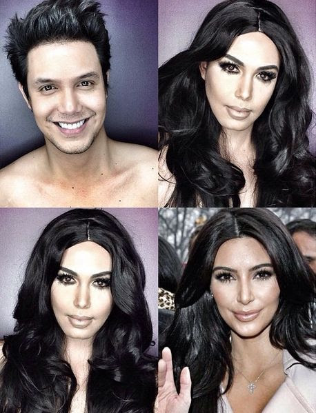 From Rihanna to Kim K – Must See Makeup Transformations!