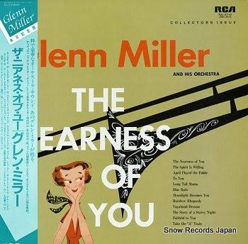 MILLER, GLENN nearness of you, the