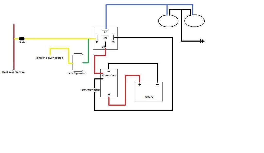 roger vivi ersaks  2005 corolla backup light wiring