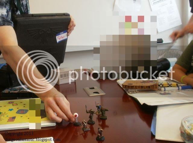 School Minis - Deploying my figures