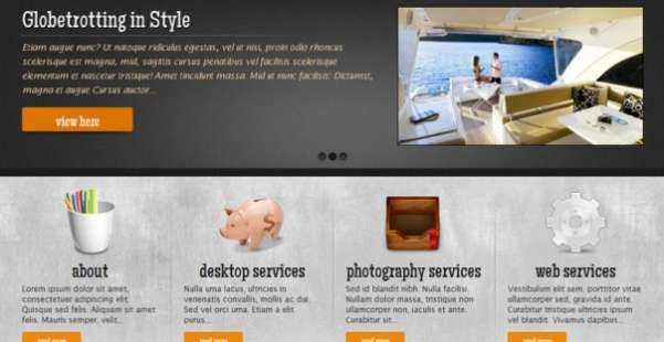 Rheniumific  Business WordPress Theme