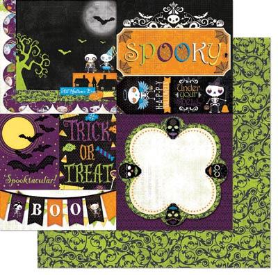 Bo Bunny Fright Delight Spooky