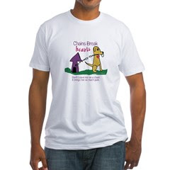Chains Break Hearts Fitted T-Shirt