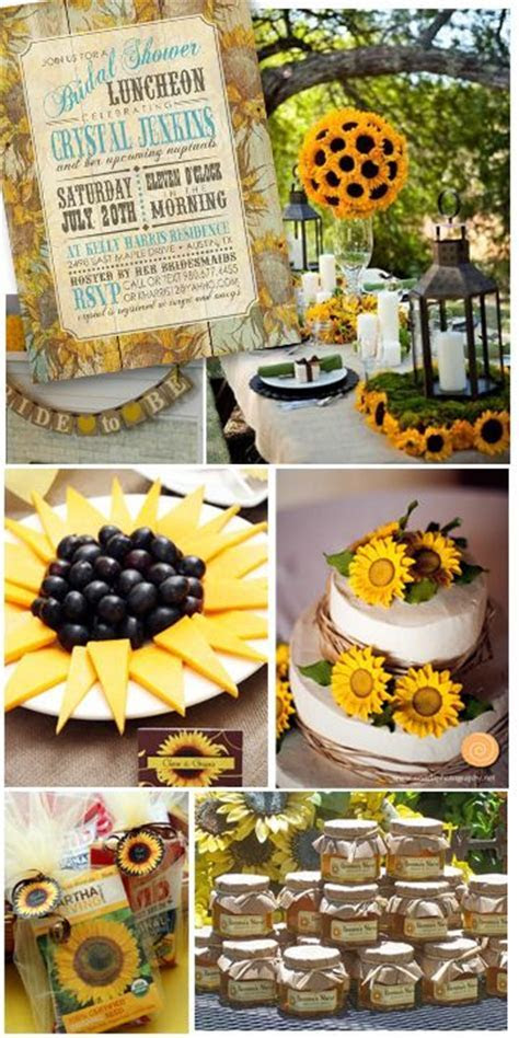 burlap and sunflower wedding ideas   Bright as Sunshine