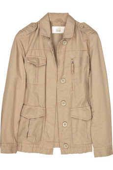 J.Crew Ringspun Tyson cotton military jacket