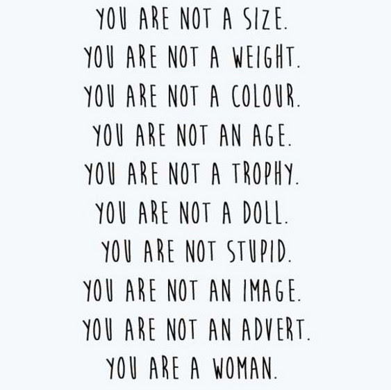 You Are Not Quote 50 Quotes To Boost Your Body Confidence Livingly