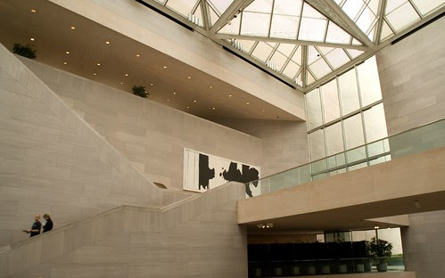 Inside the National Gallery of Art