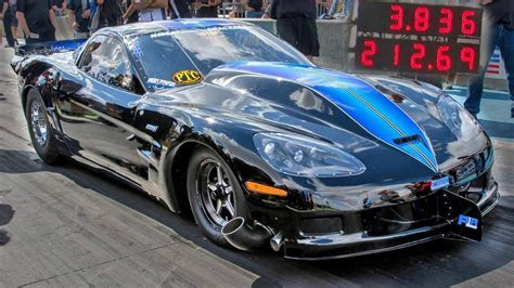 Twin Turbo Corvette ? 212 MPH in Eighth Mile   DragTimes.com Drag Racing, Fast Cars, Muscle Cars