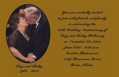 Golden Anniversary Invitations (Item #AAN0906)