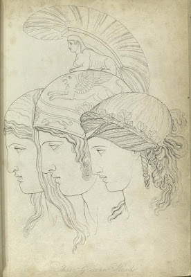 Three Grecian Heads