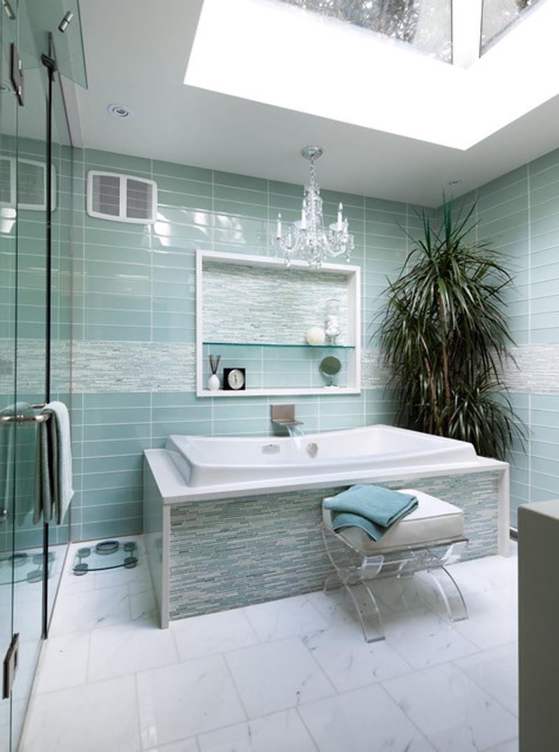 Turquoise Interior Bathroom Design Ideas | My Decorative