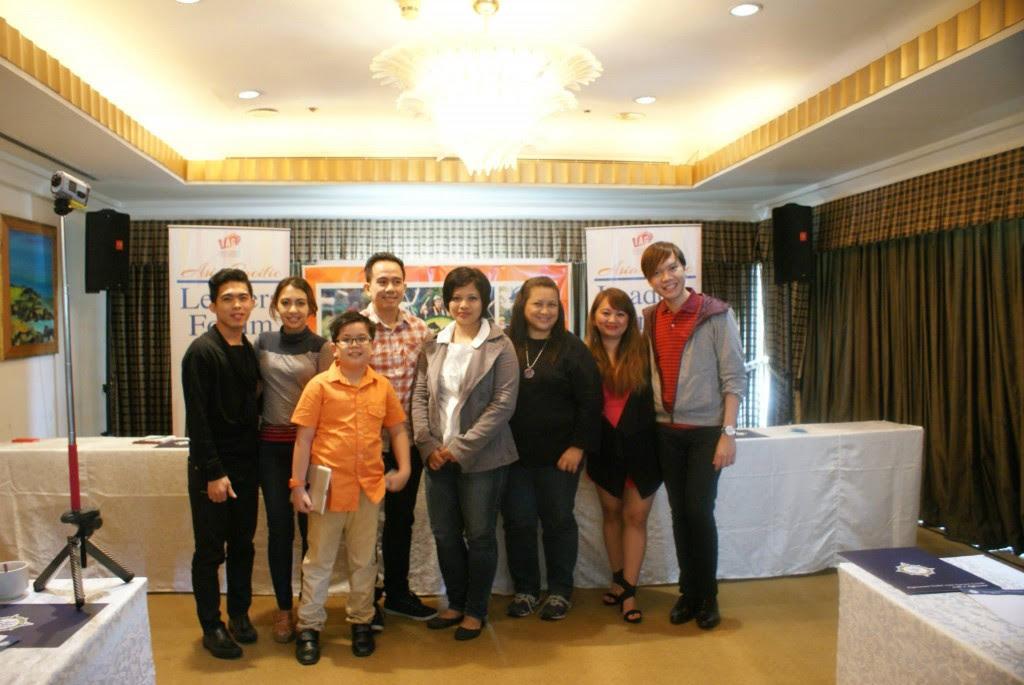 Panelists of Blogging 101 in Treetop Adventure Subic Bay