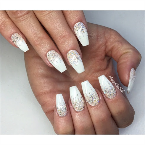 Nail Designs Ombre Glitter