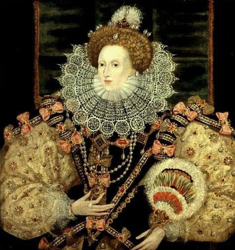 George Gower, Portrait of Queen Elizabeth I, 1588