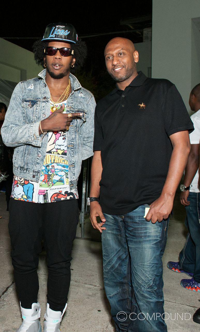 Realflowz Trinidad James Verse Simmonds Bobby V At Compound Nightclub
