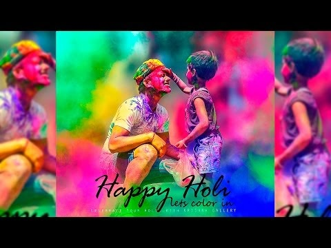 Holi Special Photoshop Editing | Holi Effects