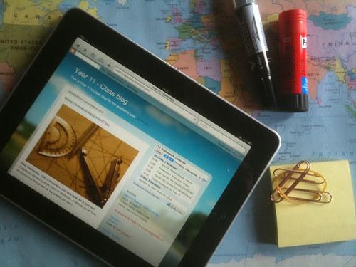 Teacher's Desk by mortsan, on Flickr