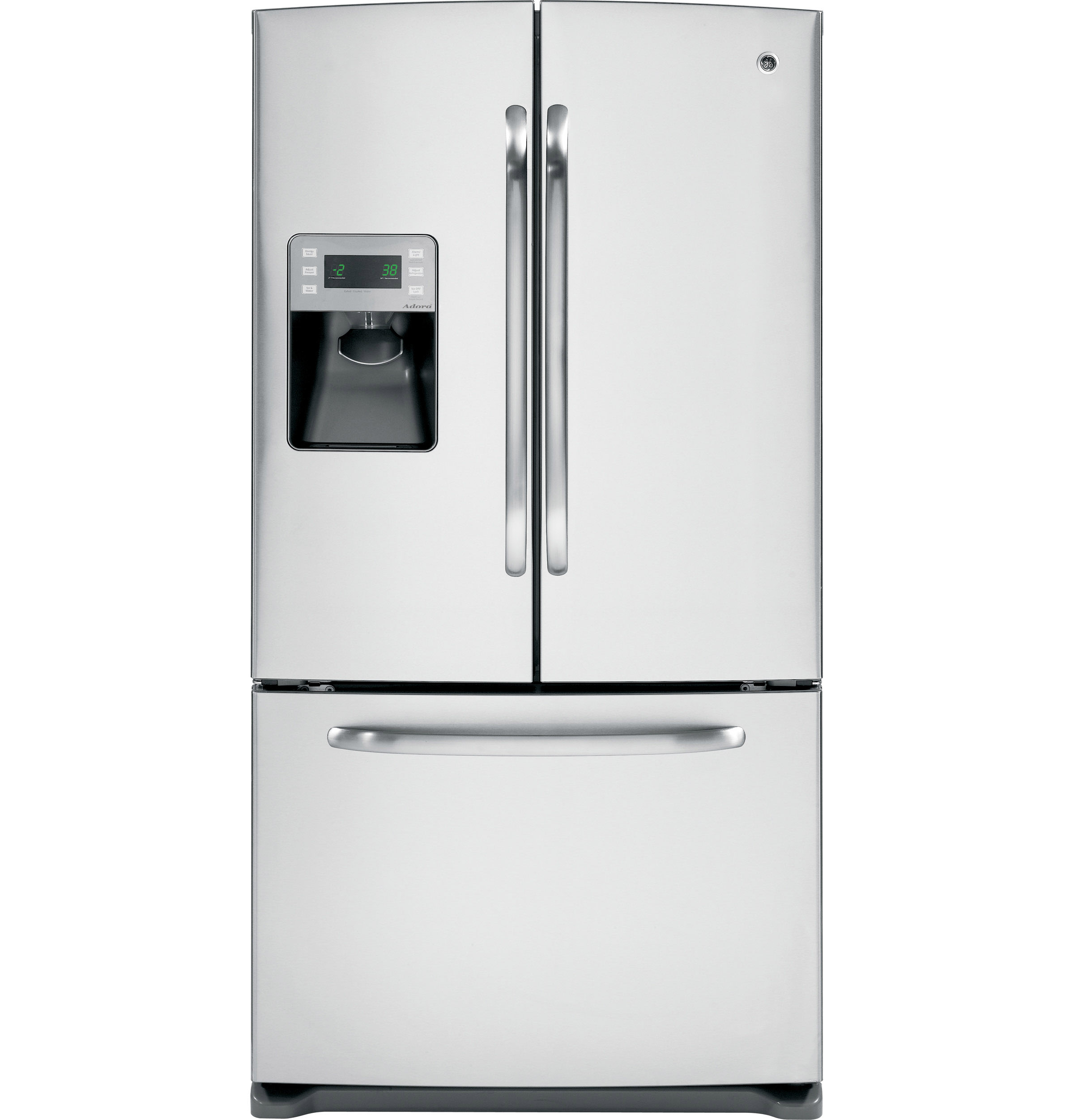 GE ENERGY STAR 25 9 Cu Ft French Door Refrigerator with Icemaker