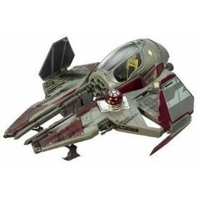 Bargain Star Wars Revenge Of The Sith Obi Wan Kenobis Jedi Starfighter Vehicle