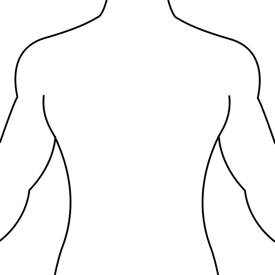 Outline Of Female Body - Cliparts.co