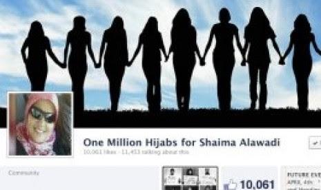 Satu Juta Perempuan Michigan Kenakan Jilbab