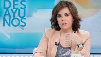 La vicepresidenta del govern espanyol, Soraya Sáenz de Santamaría