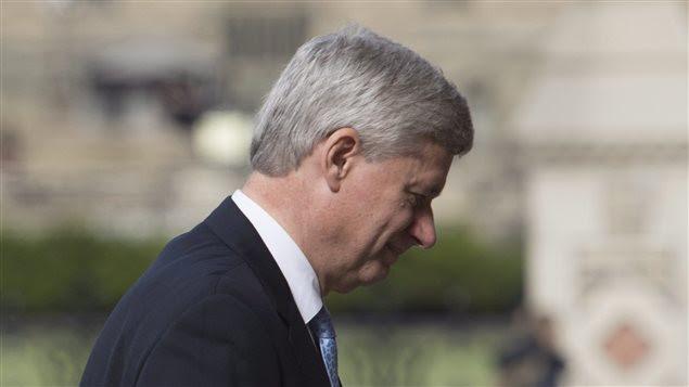 Le premier ministre sortant, Stephen Harper
