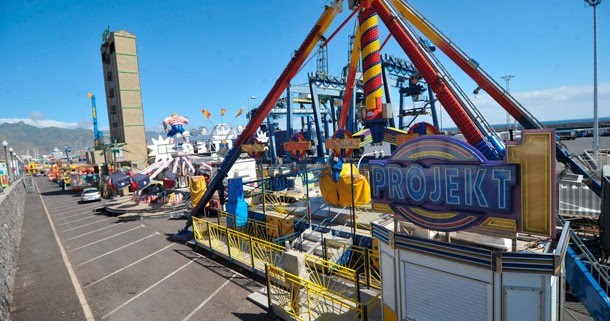 Resultado de imagen de atracciones carnaval tenerife feria