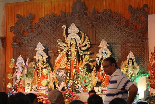Atithi Devo Bhava .. Guest Is God -Bombay Durga Bari Samiti by firoze shakir photographerno1