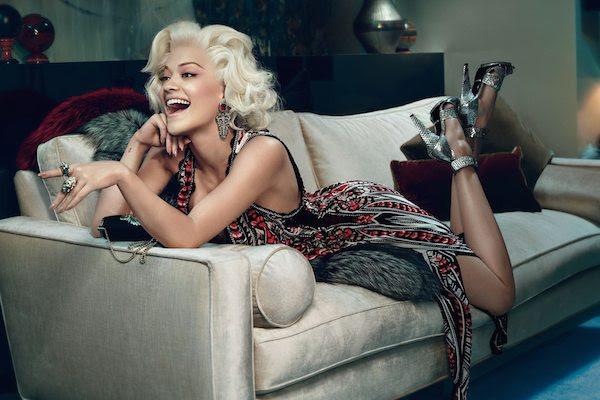 3 Rita Ora by Francesco Carrozzini for Roberto Cavalli Fall : Winter 2014 Ad Campaign