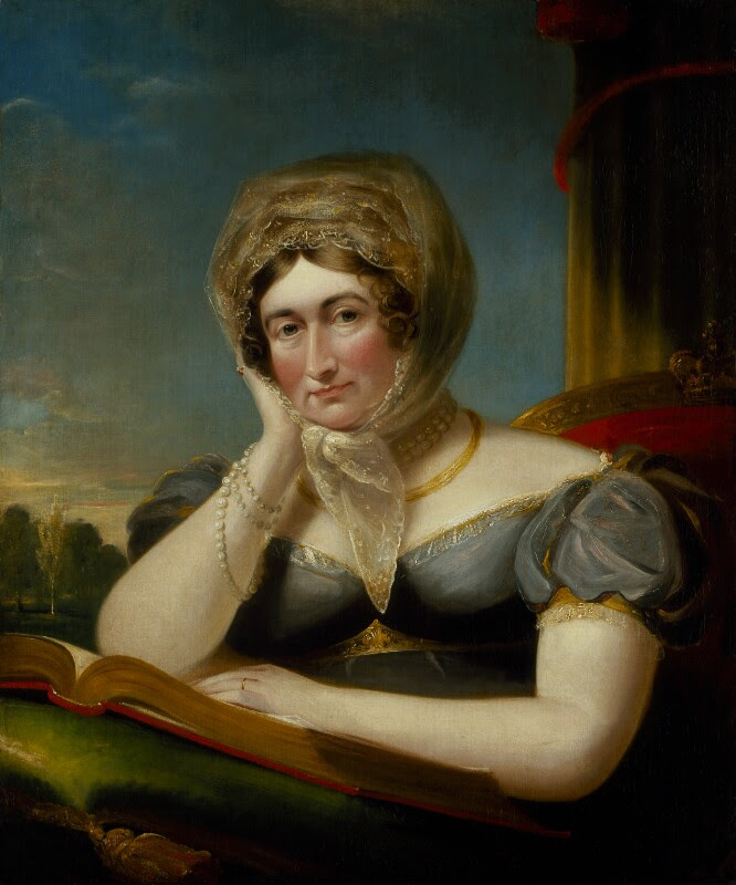 Portrait of Caroline of Brunswick by James Lonsdale