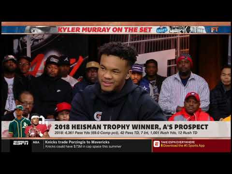 "Stephen A. Smith vs Kyler Murray QUESTIONABLE ""What QB most resembles your game"""